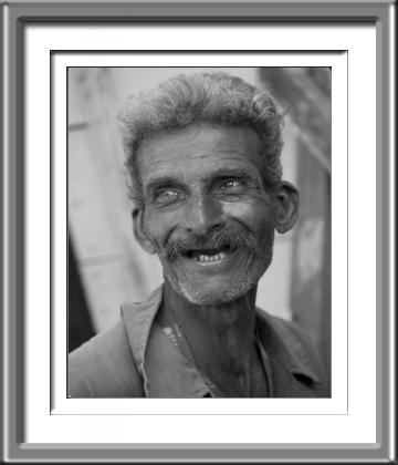 Cuba, Black and White, Old Man