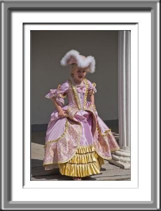 princess, 18th century, costume, girl, child