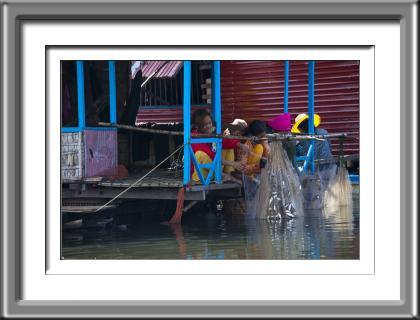 girls, fishing