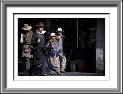 Tibet, men, elders