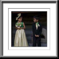 wedding,children