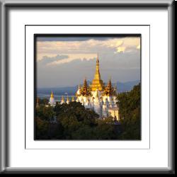 golden, pagoda, temple, Burma, Myanmar