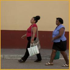Trinidad, Cuba, yellow