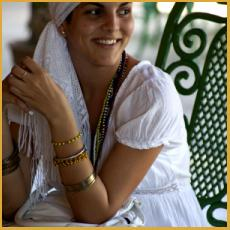 Girl, Cuba, white